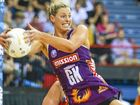 CHAMPION: Firebirds captain Laura Geitz (captain) intercepts a pass in last year's grand final win over the Swifts.