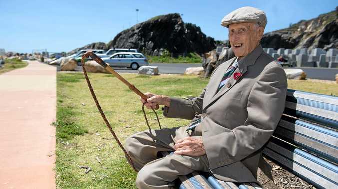 Local World War II veteran, Bill Owers passed away on Tuesday.