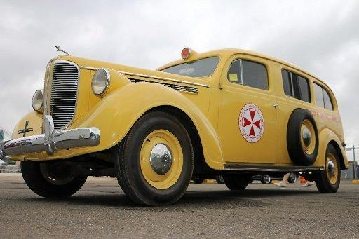 Dodge ambulance that was stationed at Kyogle between 1938 and 1964.