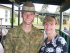 Toowoomba's Sue Jenkins with her son Shaun.