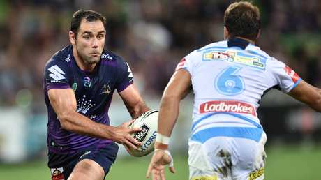 MAROONS skipper Cameron Smith is set to break the record for most Origin appearances. Picture: Julian Smith, AAP.