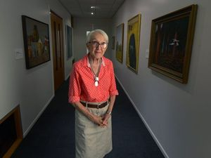 Chair of Rocky Art Gallery trust retires after 22 years