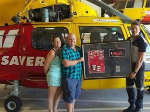Mt Warning PTSD hiker donates to Westpac chopper rescuers