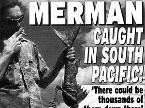 Ipswich court in uproar over 'Merman'
