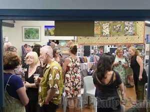 LCACA 8x8 exhibition opens
