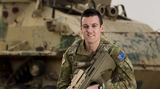 Signaller James Treasure is currently deployed to Iraq with Task Group Taji. Photo Contributed