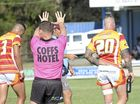DECISION MAKERS: Leading Group 2 official Nathan Grace was heavily called upon in the first round clash between the Grafton Ghosts and Coffs Comets.