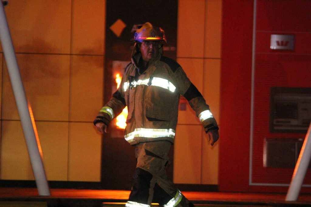 Fire at Whitsunday Shopping Centre, Cannonvale Queensland.