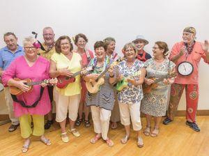 Strumming some good vibrations at Seniors Expo