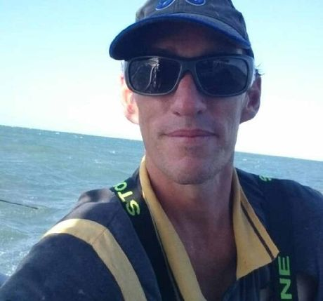 One of the fishermen who went missing at sea near Fraser Island.