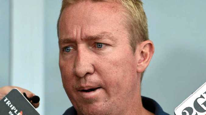 Feeling the pressure ... Roosters coach Trent Robinson. Photo: AAP Images.