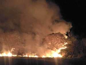 Authorities on high alert as Bruce Hwy fire sparks