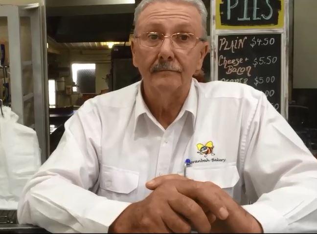 Steve Hanvey owner of Moranbah Bakery.