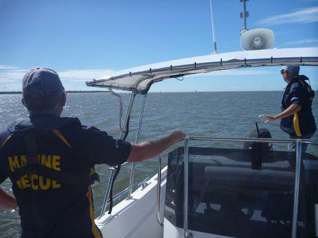Volunteer Marine Rescue crews