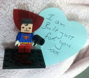 Superman - made for Supermum