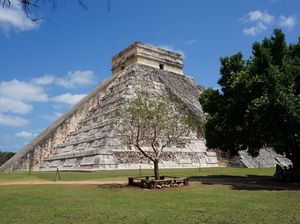 Surely thousands have made this joke about Chichen Itza