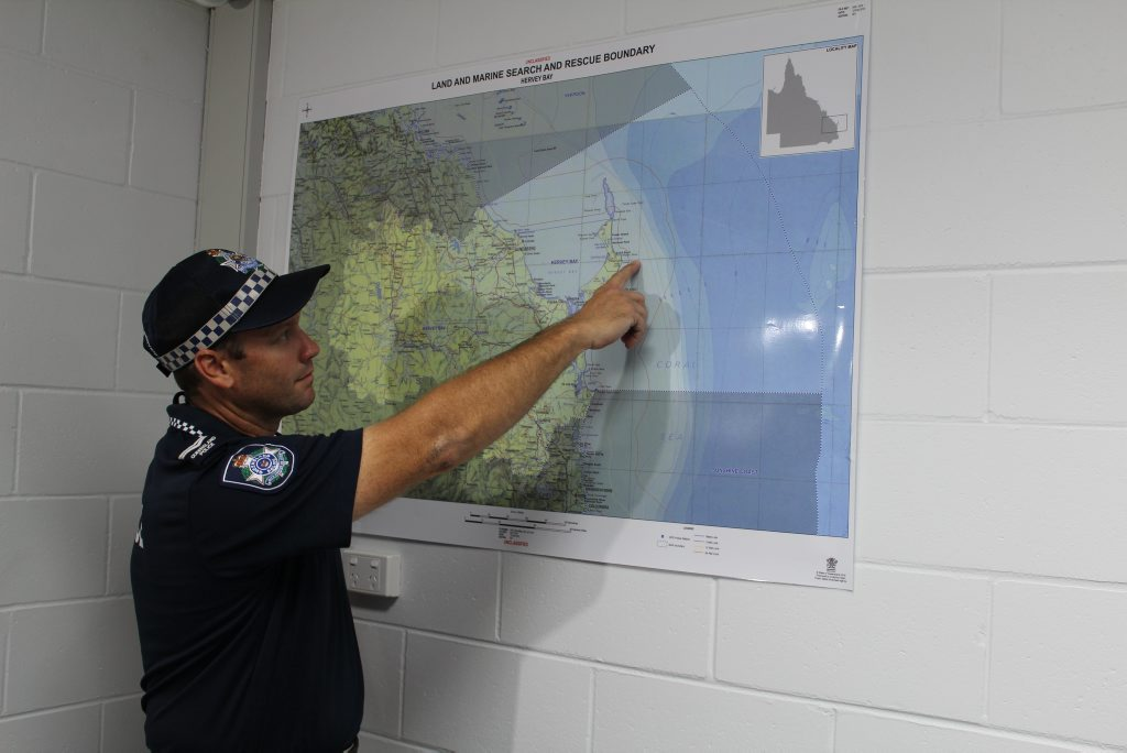 POLICE will not be conducting a dive to search for the two Bundaberg men who went missing after their trawler capsized off Fraser Island.