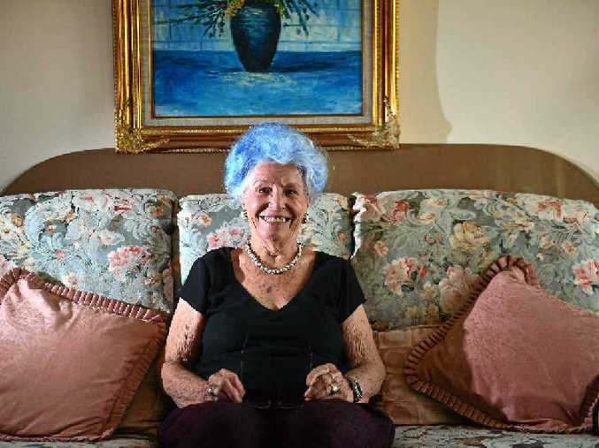 TREND-SETTER: Florence Bush, 83, is an active human being.