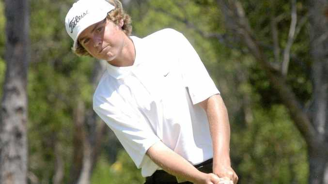 Jay Mackenzie, of Lennox Head, won the boys division of the Peter O'Malley Junior Masters at the Bathurst Golf Club.