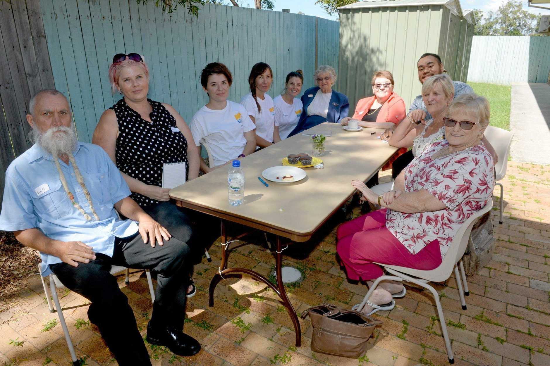 Red Cross volunteers, TAFE students and community members gathered for the Seniors Week 'Memory Lane' event at Tweed Heads South Community Care Centre on Tuesday morning.