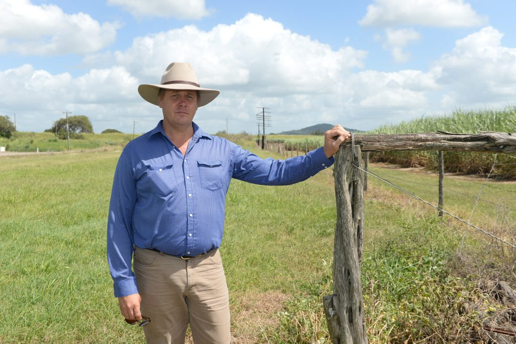 Charles Ogilvie is fighting for payment after Transport and Main Roads aquired just over 2 hectares of his land back in 2006.