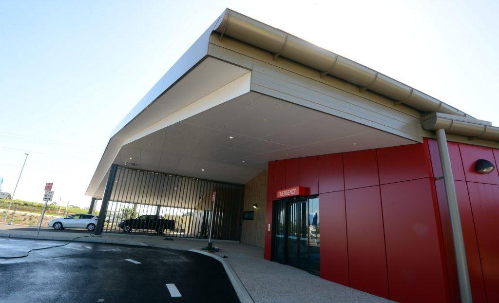 Byron Central Hospital, emergency. Photo Cathy Adams / The Northern Star