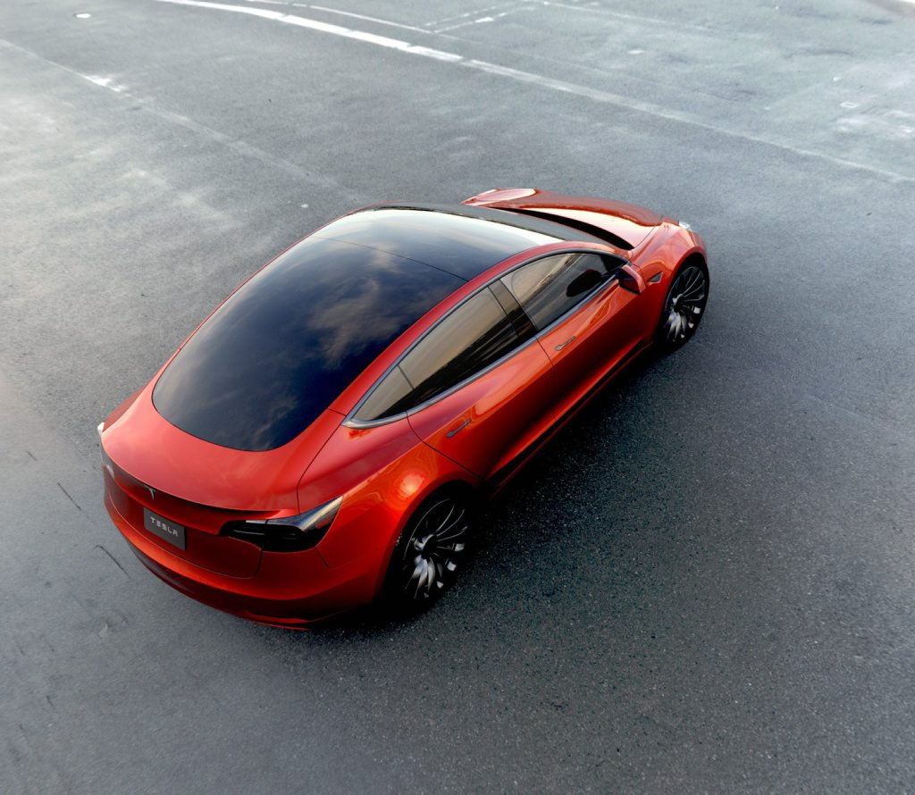 Tesla Model 3. Photo: Contributed