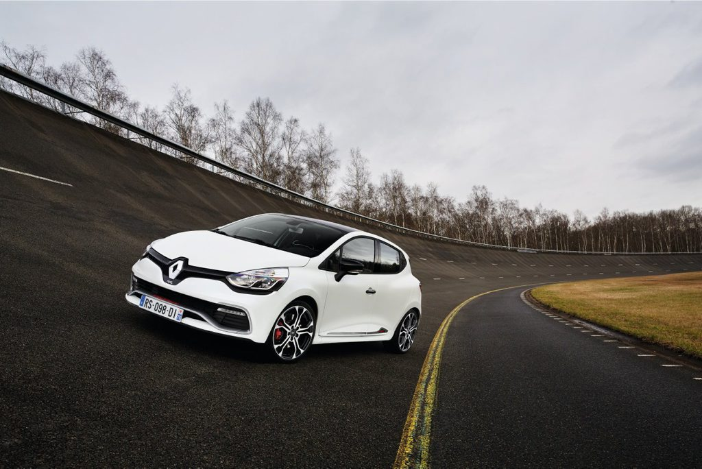 TROPHY TIME: Iain Curry and Vani Naidoo each score an ultimate Renault Sport Clio for a week and reignite their misspent hot hatch youths.