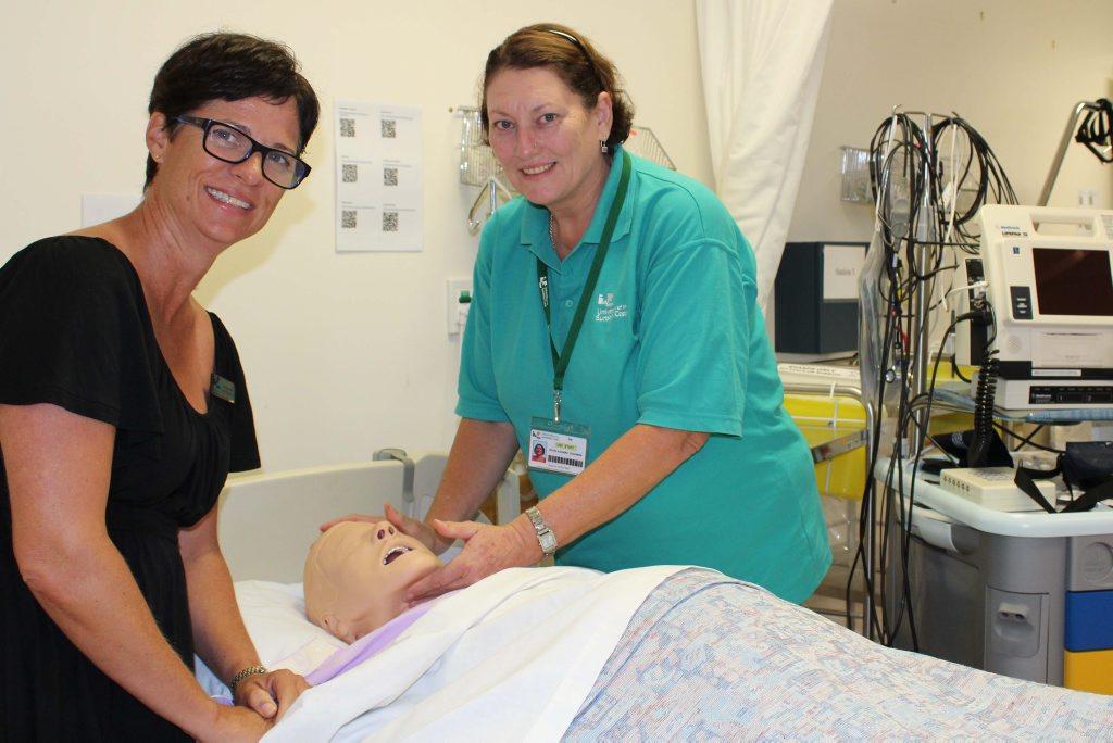 Nurse Crystel Schuchmann