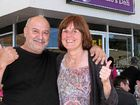 Marino and Yvonne after the reopening of Marino's Deli in 2014. Photo Sharon Smallwood