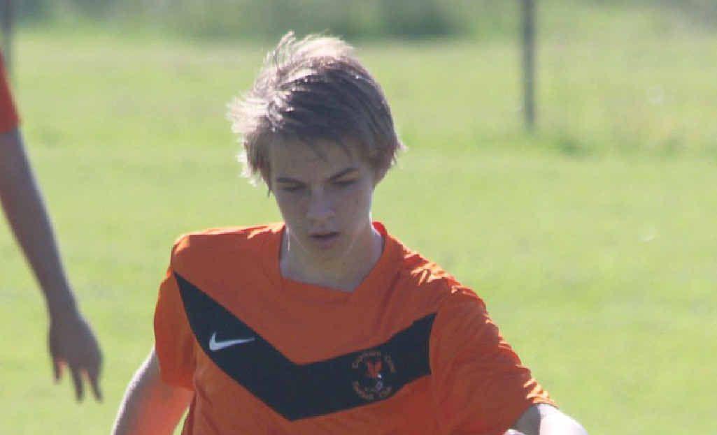 SKILLS: CCFC's 15-year-old Fergus Sansom.
