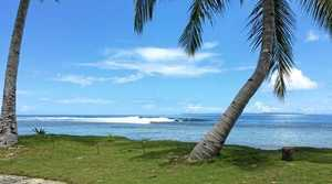 MACARONIS surf break in the Mentawi Islands of Indonesia
