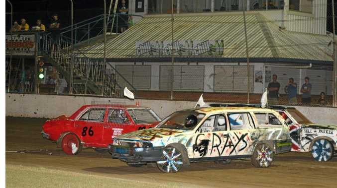 BANG-UP JOB: Grafton show organisers want keen drivers to enter the demolition derby at this month's 150th show.