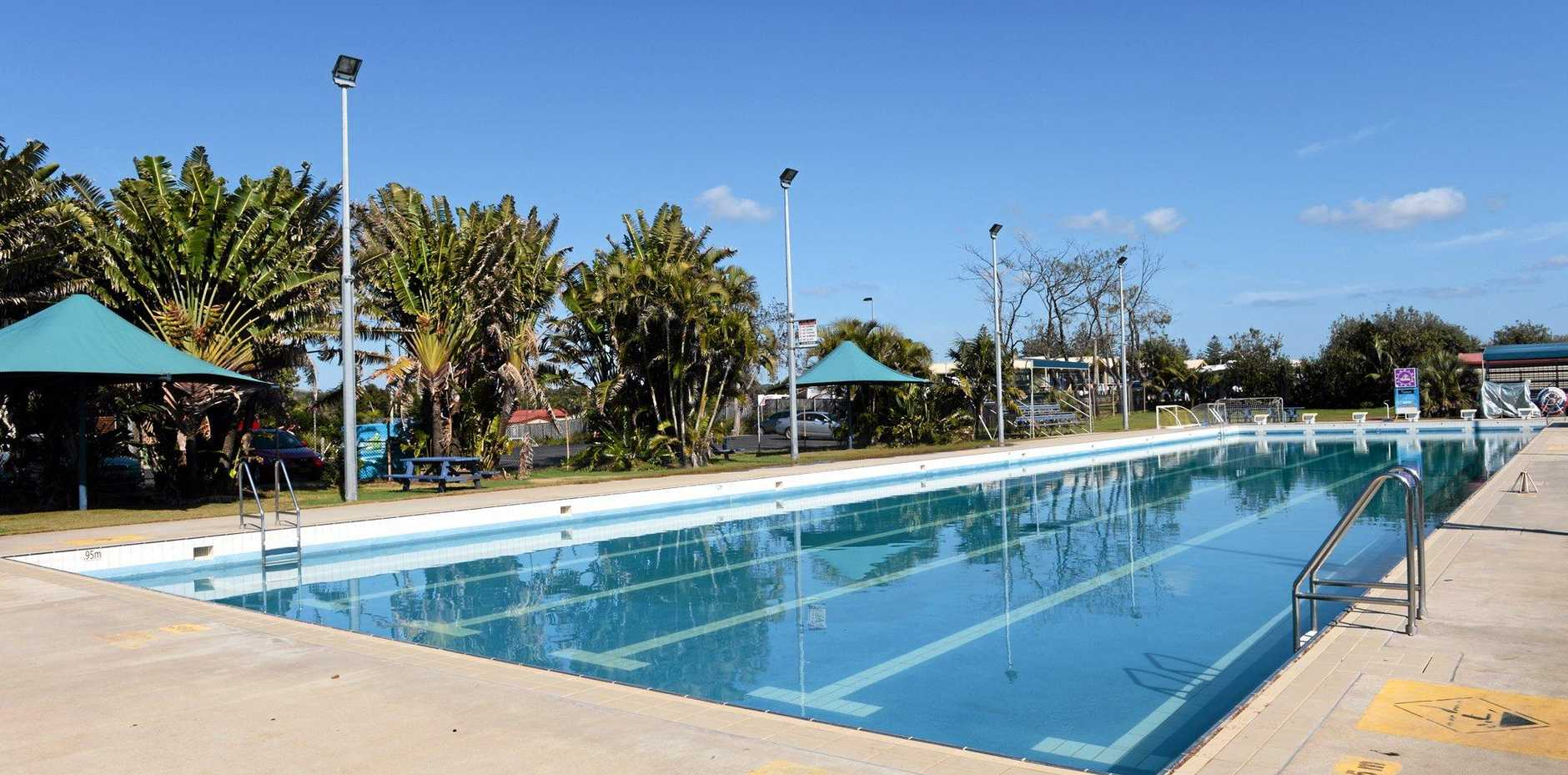 STAY OR GO? The future of the Byron Bay pool is up for debate in the draft masterplan.