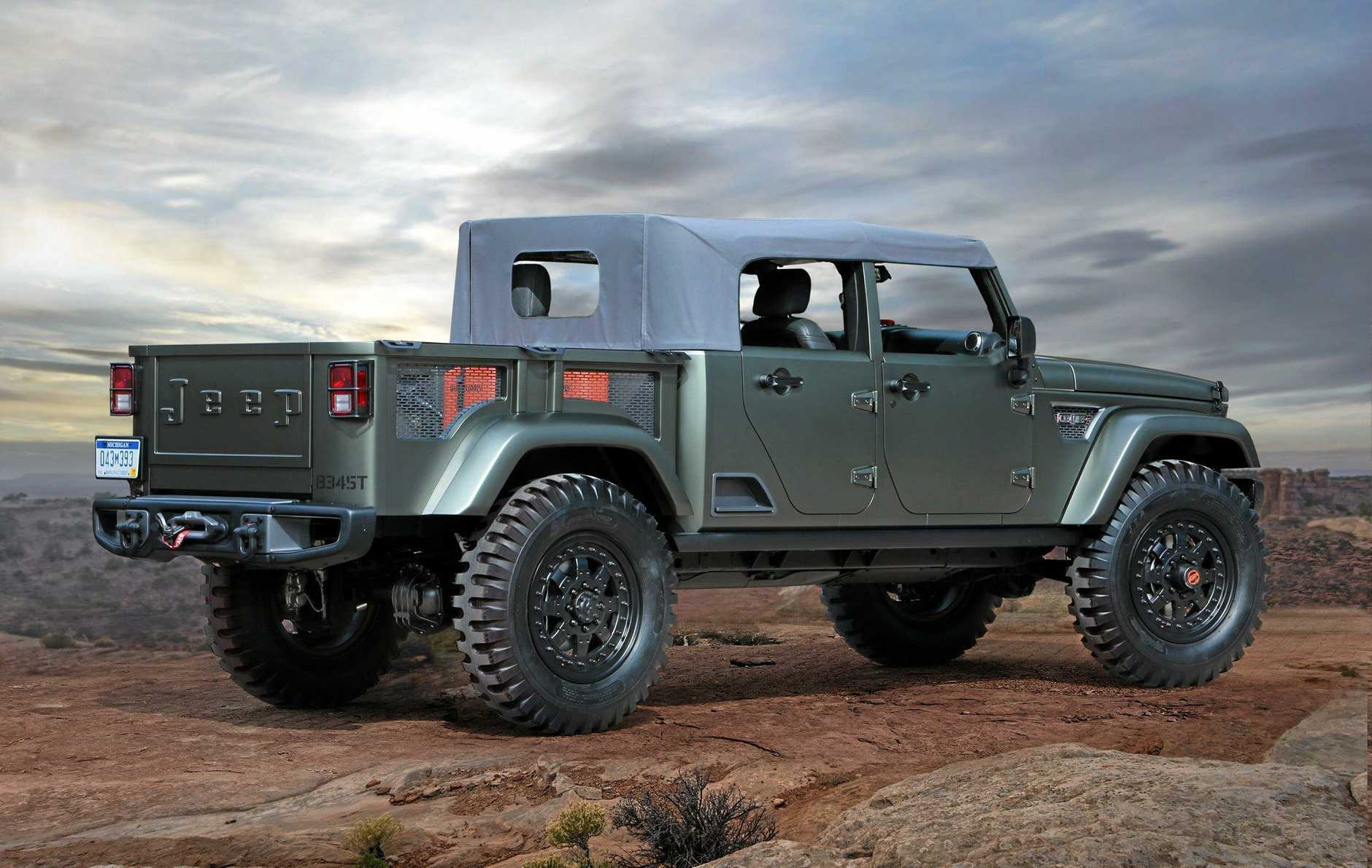 The Jeep Trailcat concept.