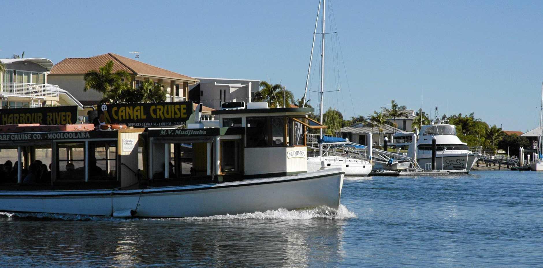 KICK BACK: And enjoy a canal cruise on the MV Mudjimba.