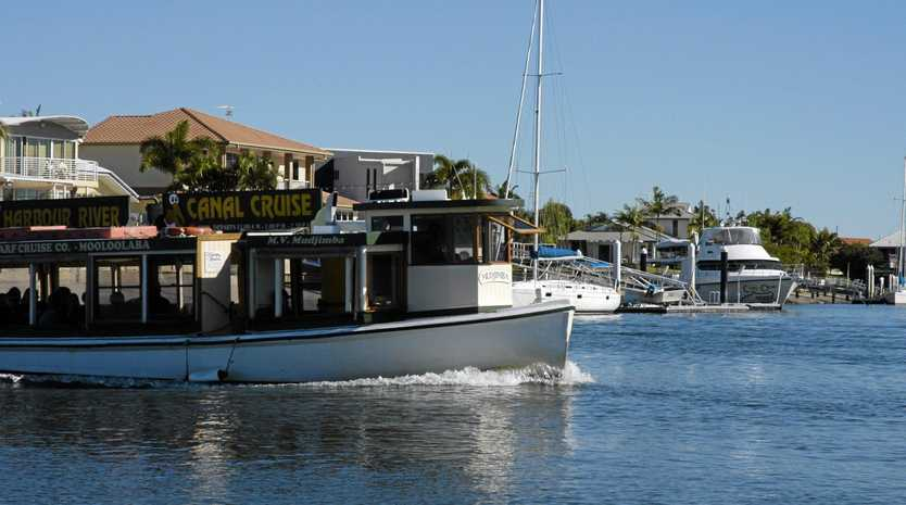KICK BACK: And enjoy a canal cruise on the MV Mudjimba.