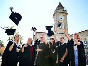 Gympie's first local university graduates honoured