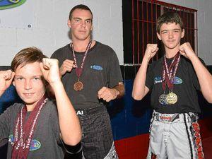 South Burnett fighters return Queensland champions
