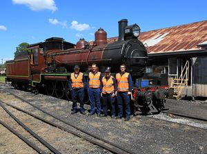 Steam train school fires up its students