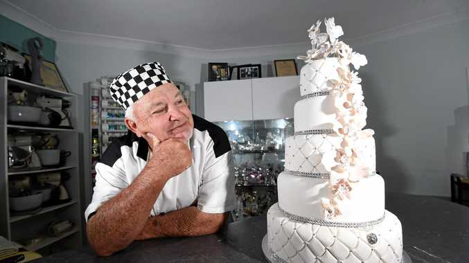 Greg's Cake Decorating owner Greg Smith is coming up to his 8000th cake and has won many awards for his creations.