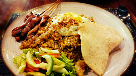 Indonesian cuisine like this nasi goreng-sate combo are likely to be plated up at the new restaurant.