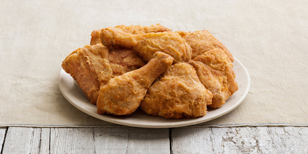 What do you get when you mix a pressure cooker and a deep fryer? Fried chicken. Photo / Yum! Brands