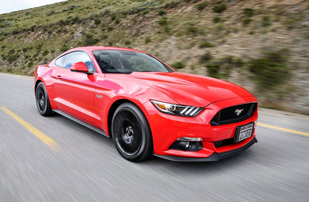 BEST SELLER: Ford ships in extra Mustangs to meet Australian demand, but 2017MY cars look like the ones to have with new SYNC 3 thrown in for the same price.