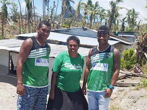 Tigers help Fijian people