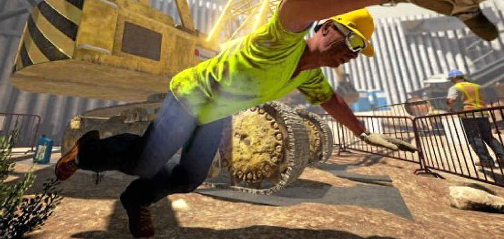 REALISTIC: The Situation Engine training platform could save lives on construction sites.