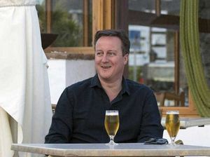 David Cameron admits to stake in offshore investment