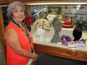 Helen's fun hats a big show success