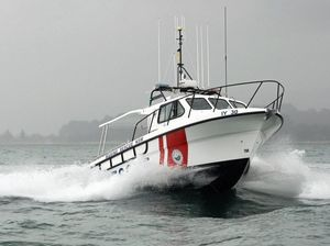 Midnight mercy dash to stricken yacht off Brooms Head