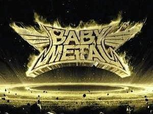 Artwork for Metal Resistance, the second album of Japanese female metal band Baby Metal.